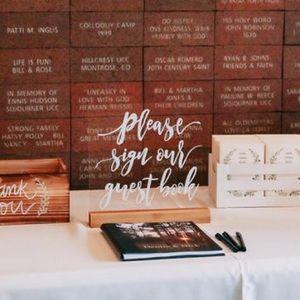 Guest Book wedding sign